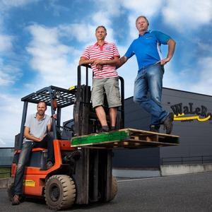 Walter, Leon en Ronald van den Bosch