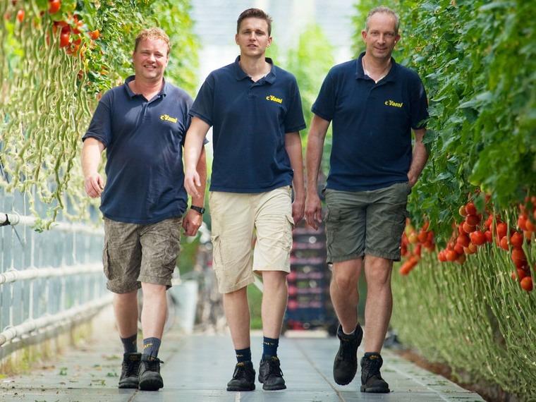 Michel Zwinkels,                       Arjan en Andy de Jong