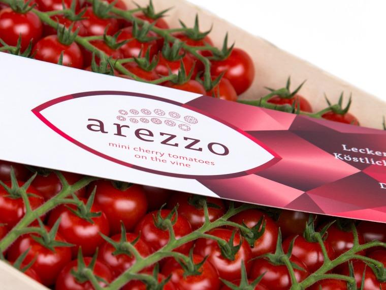 Cherry-Rispentomaten klein Arezzo